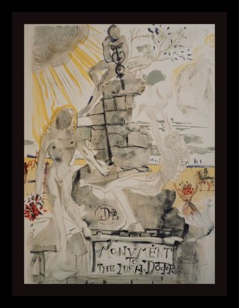 Litografia Dali - Monument To The Ideal Doctor