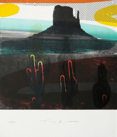 Litografia Soulie - Monument Valley I I