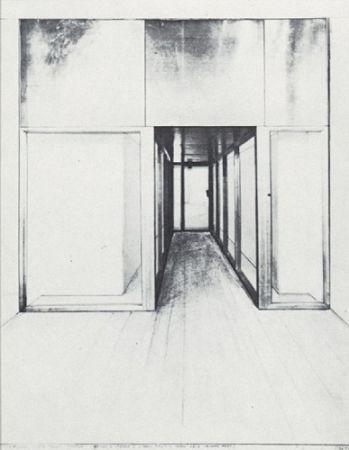 Serigrafia Christo - Monuments, Store Front Corridor