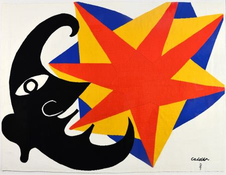Non Tecnico Calder - Moon and Star Tapestry