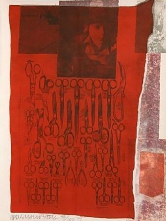 Serigrafia Rauschenberg - MOST DISTANT VISIBLE PART OF THE SEA