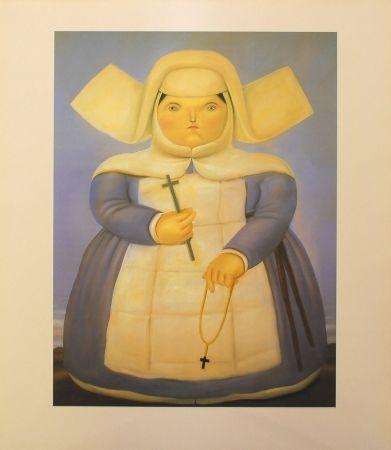 Litografia Botero - Mother Oberin