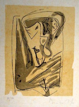 Litografia Van Velde - Mp 185
