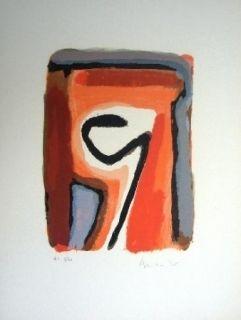 Litografia Van Velde - Mp 264