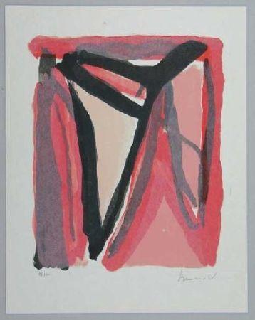 Litografia Van Velde - Mp 294