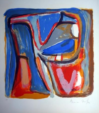 Litografia Van Velde - MP 75