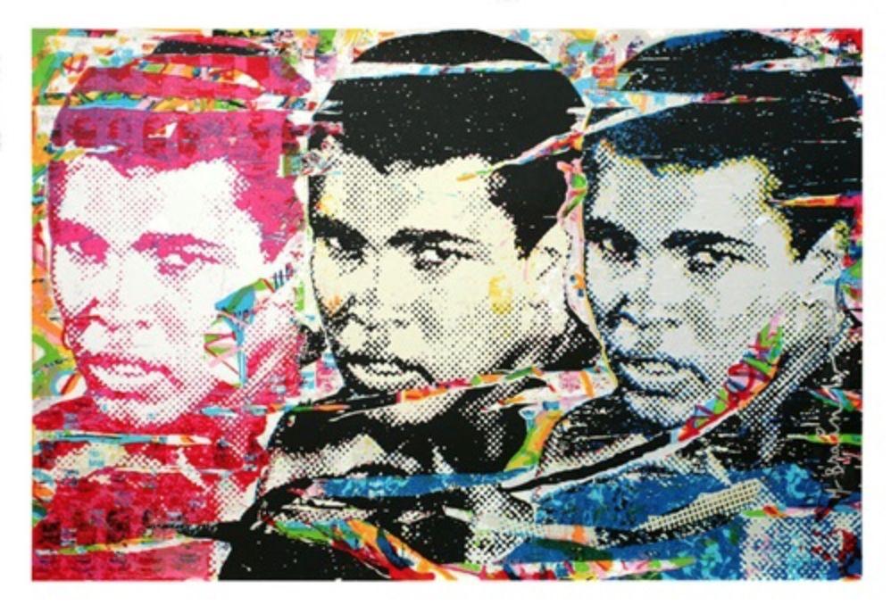 Serigrafia Mr Brainwash - Muhammad Ali – The Champ