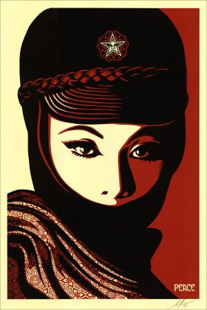Serigrafia Fairey - Mujer Fatale