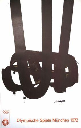 Litografia Soulages - Munich 72