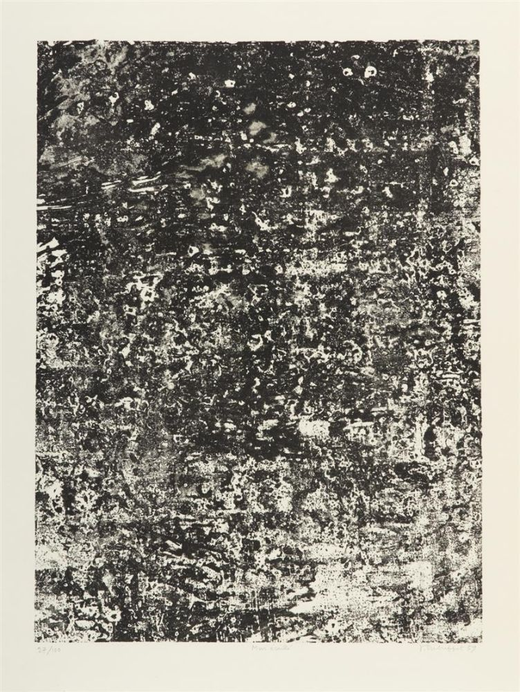 Litografia Dubuffet - Mur Ecaill