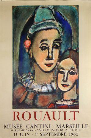 Litografia Rouault - Musée  Cantini