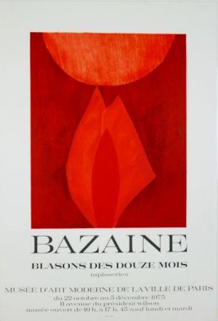 Litografia Bazaine - Musée D'Art Moderne de Paris