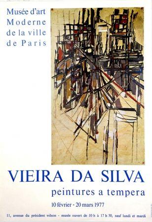 Offset Vieira Da Silva - Musée D'Art Moderne de Paris