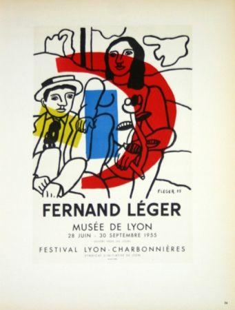 Litografia Leger - Musée de Lyon  1955