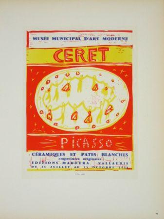 Litografia Picasso (After) - Musée  Municipal de Céret  1958