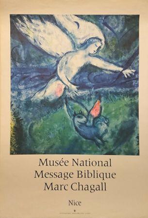 Manifesti Chagall - '' Musée National Message Biblique ''