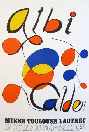 Litografia Calder - '' Musée Toulouse Lautrec ''