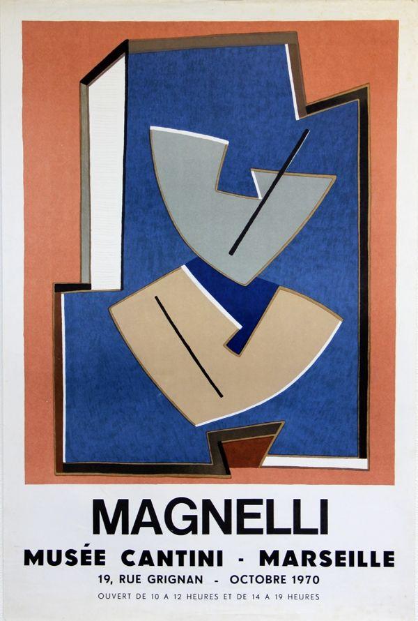 Litografia Magnelli - Musee Cantini  Marseille