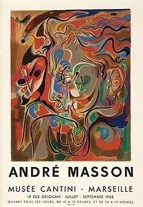 Litografia Masson - Musee Cantini, Mourlot