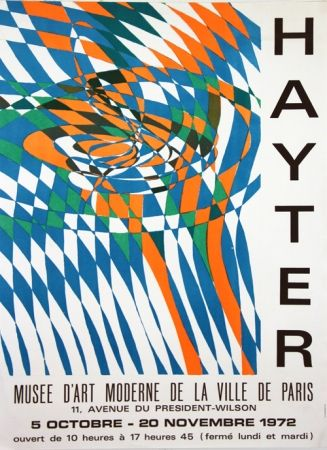 Litografia Hayter - Musee D'Art Moderne de Paris