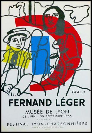 Litografia Leger - MUSEE DE LYON - FESTIVAL LYON CHARBONNIERES