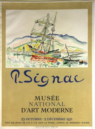 Litografia Signac - Musee National d'Art Moderne