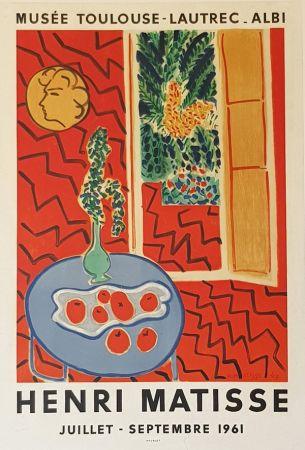 Litografia Matisse - Musee Toulouse Lautrec  Albi