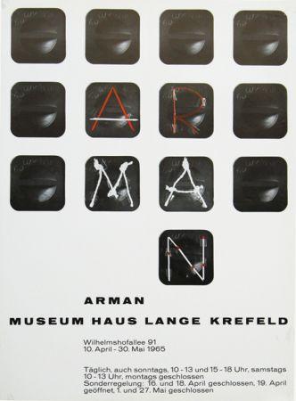 Manifesti Arman - '' Museum Haus Lange ''  Krefeld