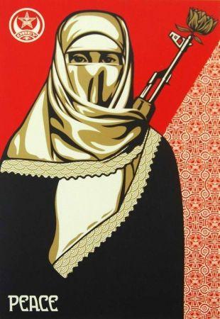 Serigrafia Fairey - Muslim Woman