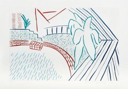 Acquaforte Hockney - My Pool and Terrace