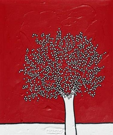 Litografia Scott - My red sky