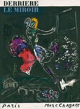 Litografia Chagall - Nacht in Paris