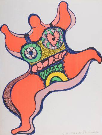 Litografia De Saint Phalle - Nana, 1971. Lithographie signé.