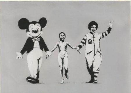 Serigrafia Banksy - Napalm