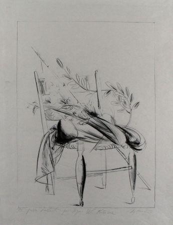Litografia Manzu - Natura morta