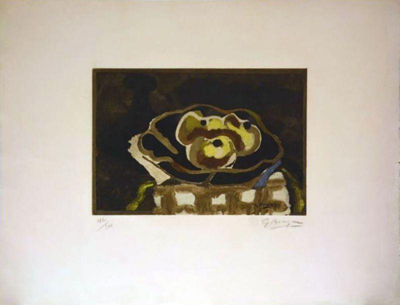 Acquaforte Braque - Nature morte