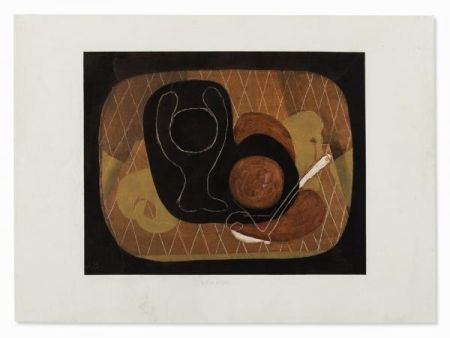 Pochoir Braque - NATURE MORTE, 1931-1933