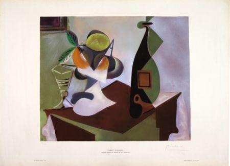 Litografia Picasso - Nature Morte au Citron et aux Oranges