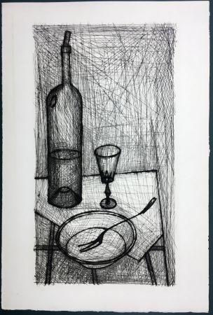 Acquaforte Buffet - Nature morte pour Recherche de la Purété (1953)