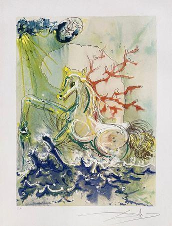 Litografia Dali - Neptune