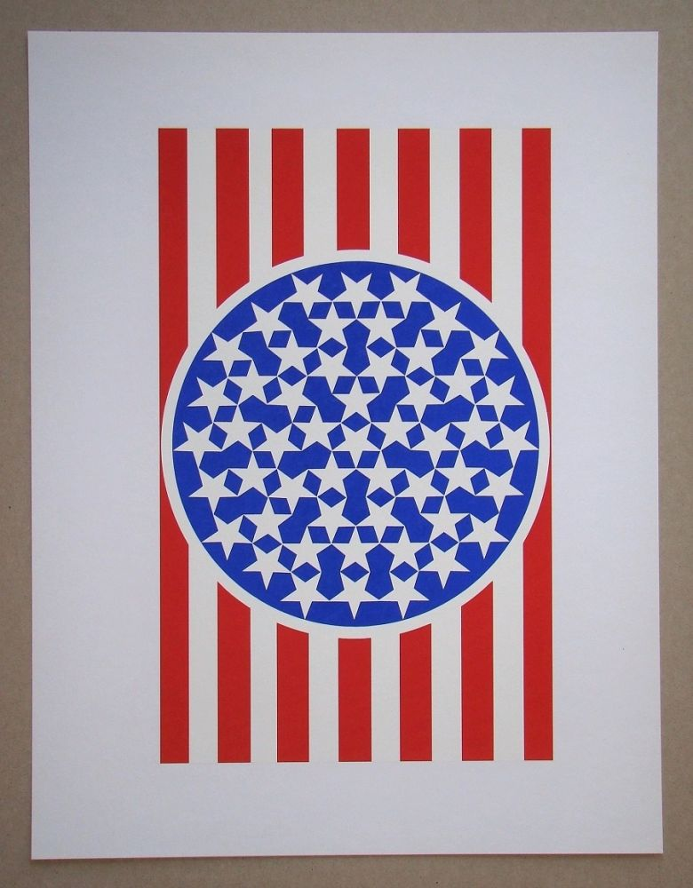 Serigrafia Indiana - New Glory Banner
