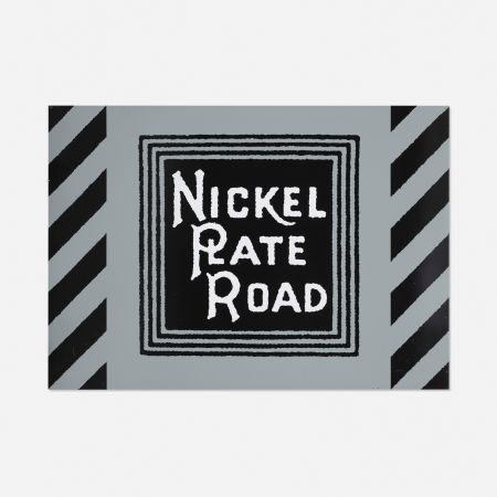 Serigrafia Cottingham - NIckel Plate Road Railway