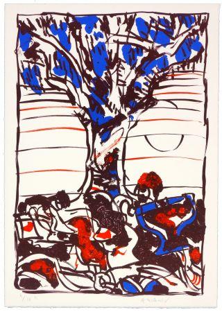 Litografia Alechinsky - No Title