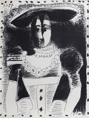Litografia Picasso - Nobel Dame