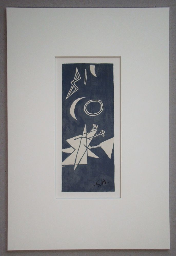 Litografia Braque (After) - Nocturne