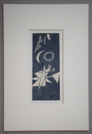 Litografia Braque (After) - Nocturne
