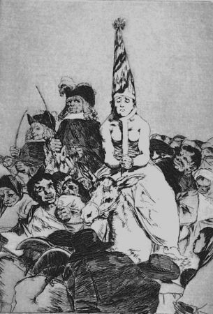 Acquaforte E Acquatinta Goya - Nohubo Remedio