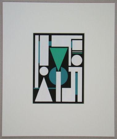 Serigrafia Herbin - Non, 1951