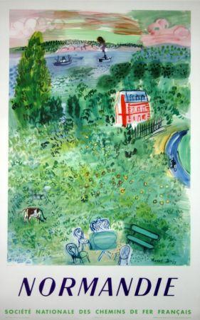 Litografia Dufy - Normandie