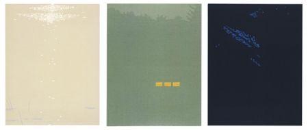 Incisione Su Legno Katz - Northern Landscapes (Fog, Bright Light and Night)